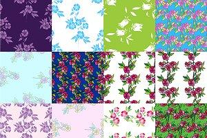 Floral design elements.