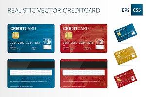 Vector creditcard