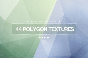 44 Lowpoly Textures