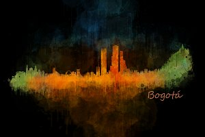 Bogotá Cityscape Skyline
