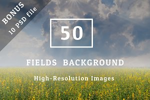 50 Fields background Set 01