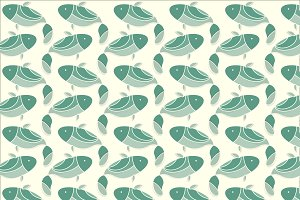 Fish icon + pattern