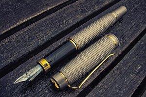 Vintage Gold Stylus Pen