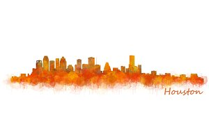 Houston Cityscape Skyline