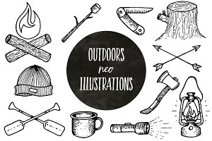 Outdoor Neo Style Illustrations