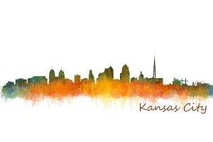 Kansas Cityscape Skyline
