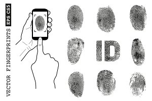 Vector fingerprint set