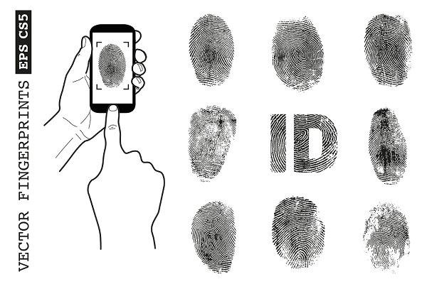 Vector fingerprint set
