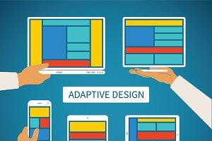 Adaptive app design