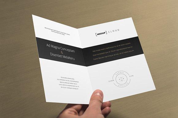Invitation greeting card mock up product mockups creative market stopboris Images
