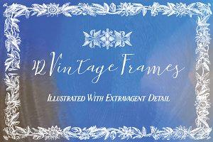 42 Vintage Frames