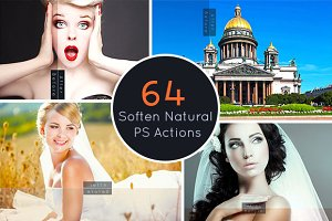 64 Soften Natural PS Action
