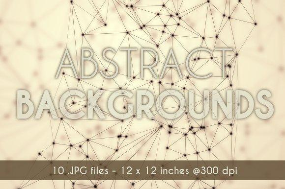 Geometric Background set v.1 - Textures