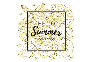 Gold Hello Summer Collection
