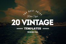 20 Vintage Logos & Badges Vol. 2