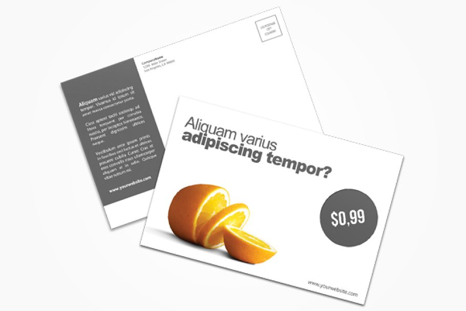 Product Postcard Postcard Templates Creative Market