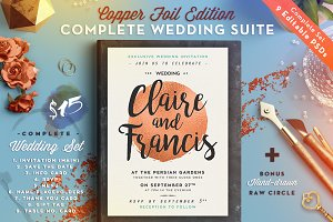 Wedding Suite III CopperFoil Edition