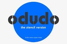 Odudo Stencil - Typeface