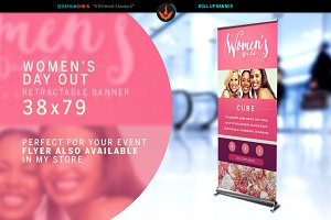 Women's Day Out Roll Up Banner