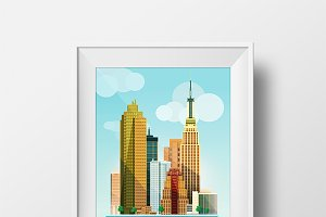 City Illustration New York