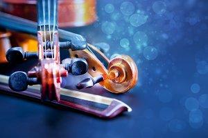 Classic music violin