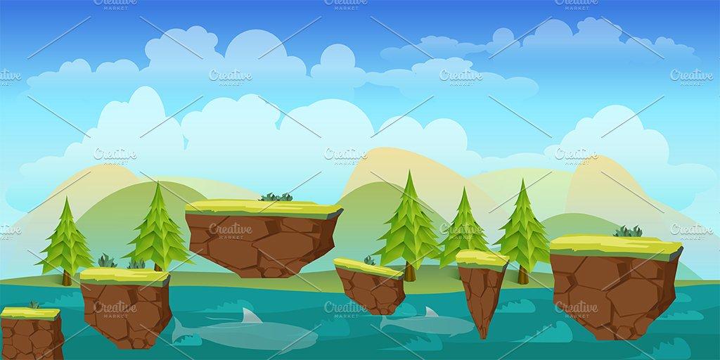 game assets game background illustrations creative market