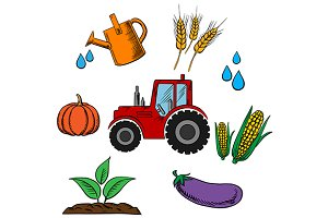 Agriculture industry and farming