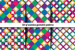 Set geometric patterns