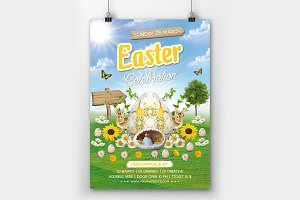 Easter Party Flyer 01