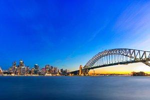 Sydney Harbor Landscape