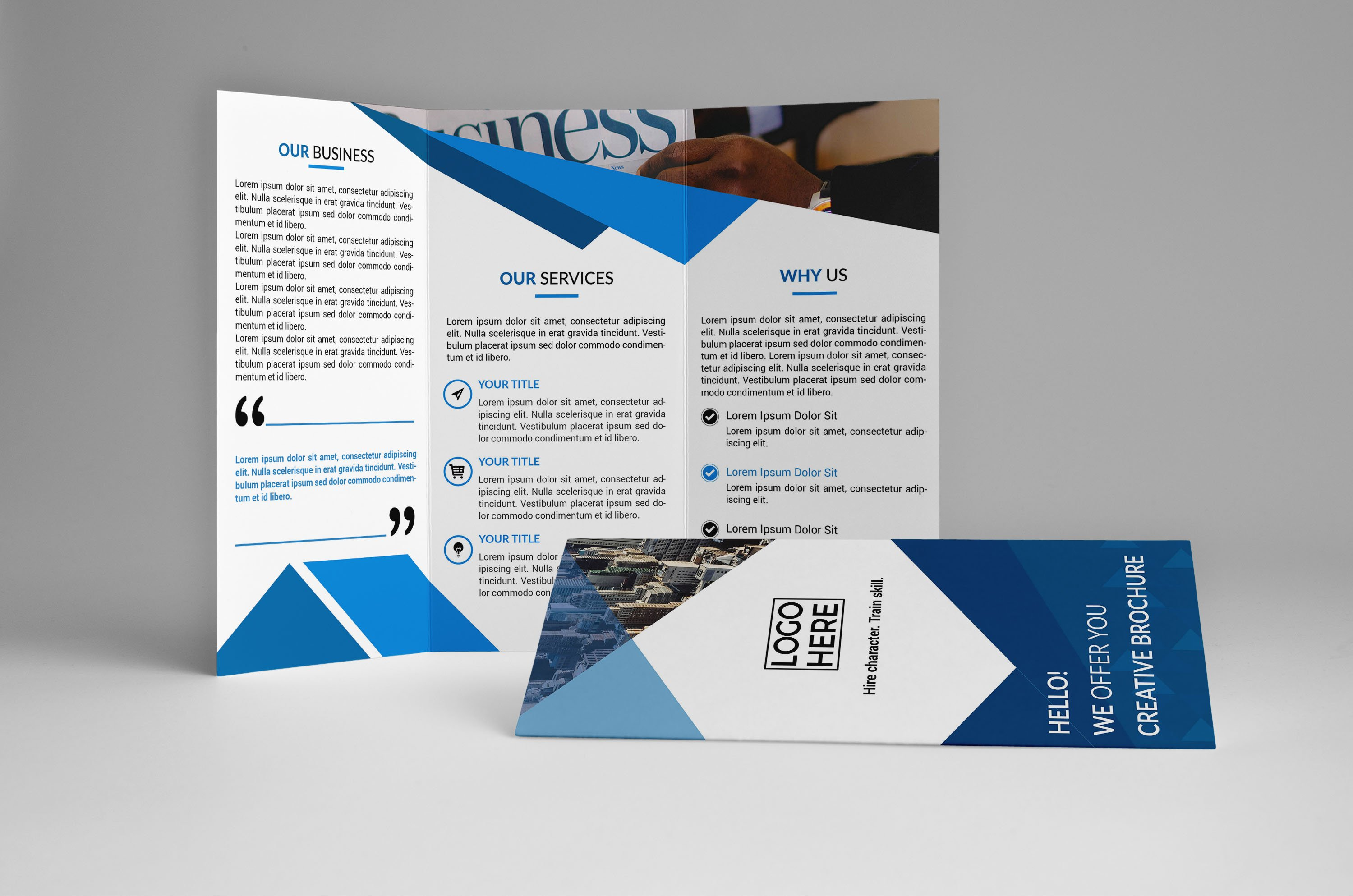 Business Trifold Brochure Template Brochure Templates Creative - Business tri fold brochure templates