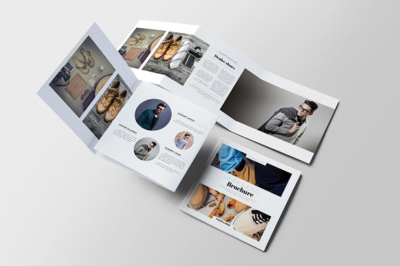 Product Square Brochure ~ Brochure Templates ~ Creative Market