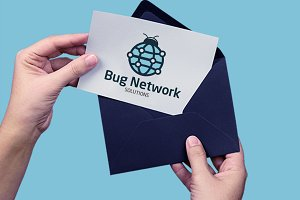 Bug Network Solution Logo