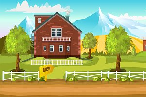 Farm Game Background