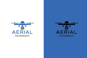 Aerial photography logo