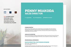 Resume Template Miakoda