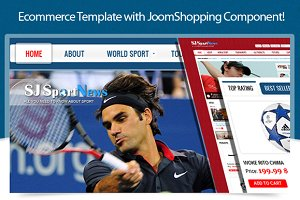SJ Sport News with JoomShopping