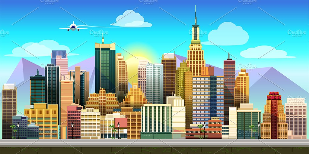 city game background illustrations creative market