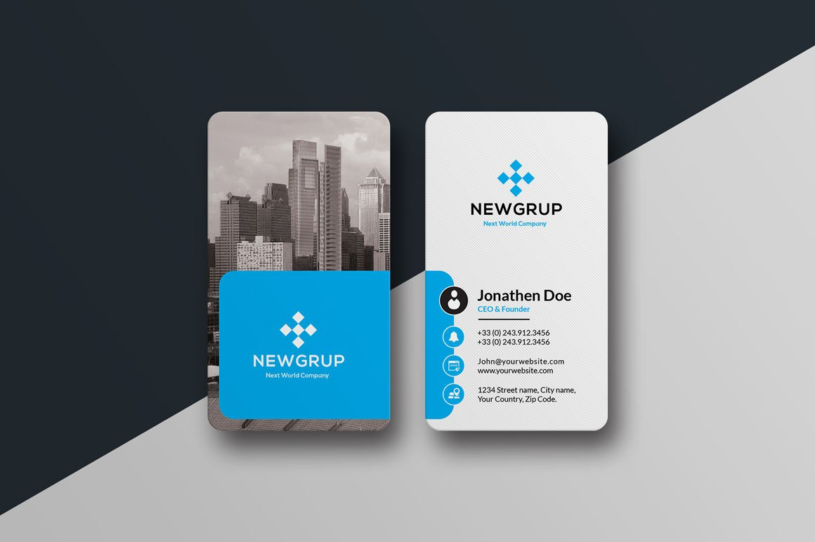 real estate business card 26 business card templates creative market - Real Estate Business Card