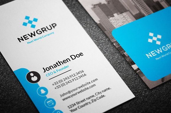 Real estate business card 26 business card templates creative real estate business card 26 business card templates creative market colourmoves