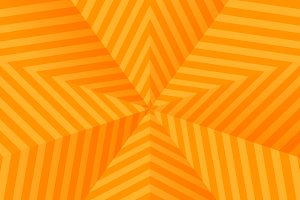 Abstract bright orange stars