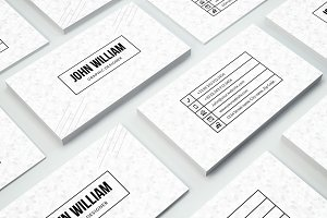 Minimal Business Card #27