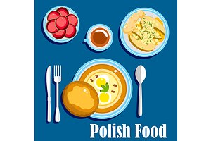 Traditional polish cuisine