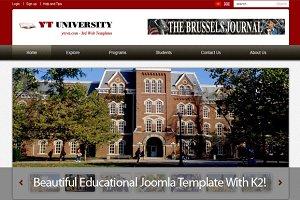 YT University - Educational template