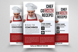 Cooking Coaching Classes Flyer