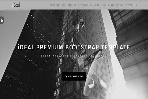 iDEAL - Responsive Onepage Template