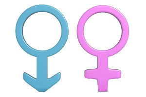 Men and Women symbols