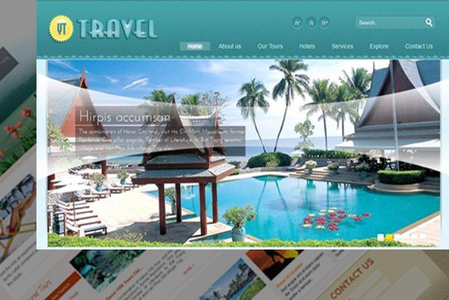 YT Travel-Impressive travel template ~ Joomla Themes