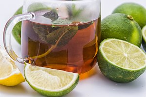 Tea and lime