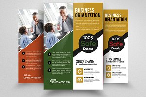 Business Orientation Flyer Template